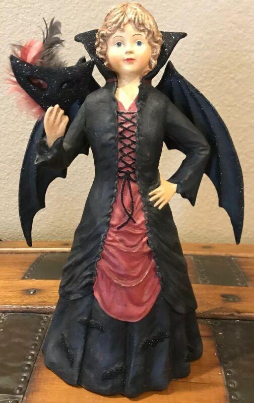 Bethany Lowe Halloween Batty Girl Vampire —Retired