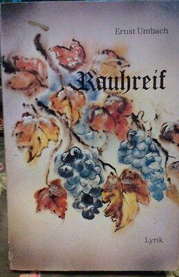 LYRIK  --  RAUHREIF  --  von Ernst Umbach  online kaufen