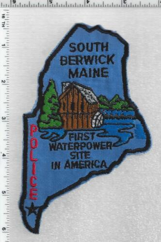 South Berwick Police (Maine) 2nd Issue Shoulder Patch