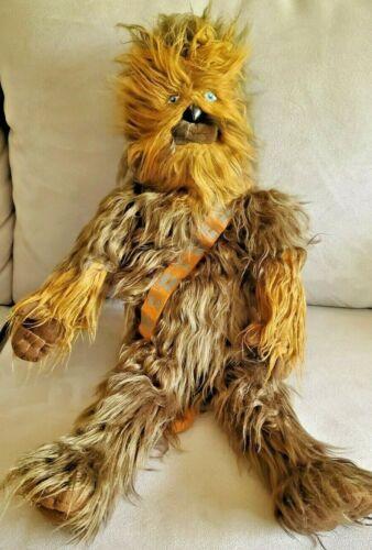 """Star Wars Chewbacca Plush Doll 23"""" Wookie Chewie Disney Lucasfilm Jay Franco"""