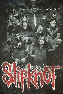 SLIPKNOT 2009 Small T Shirt All Hope Is Gone Tour Concert All Over