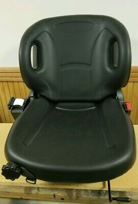 New Molded Toyota Forklift Seat With Belt Switch Slide Recline High Quality