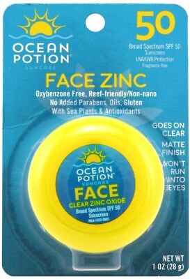 Ocean Potion Protect & Nourish Face Potion Clear Zinc SPF 50