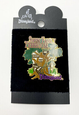 Disney Disneyland DLR 1998 Swiss Family Treehouse Attraction Pin VTG Rare HTF A4