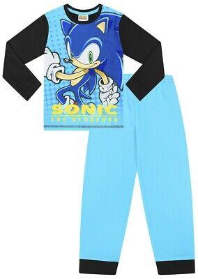 Sonic The Hedgehog Girl (Sonic The Hedgehog Long  Gamer Cotton  PJs Boy's  Pyjamas Boys Girls)