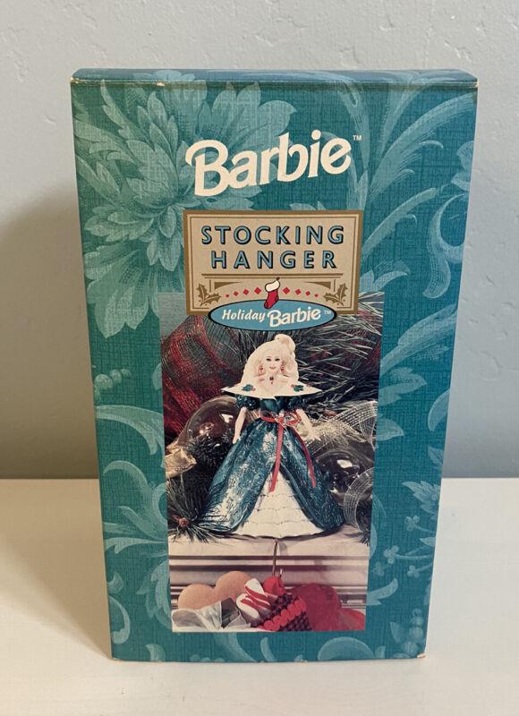 Hallmark Holiday Barbie Stocking Hanger - 1996 - Mattel - Christmas
