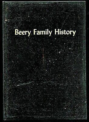 1957 BEERY FAMILY HISTORY GENEALOGY BOOK DECENDENTS OF NICHOLAS BEERY
