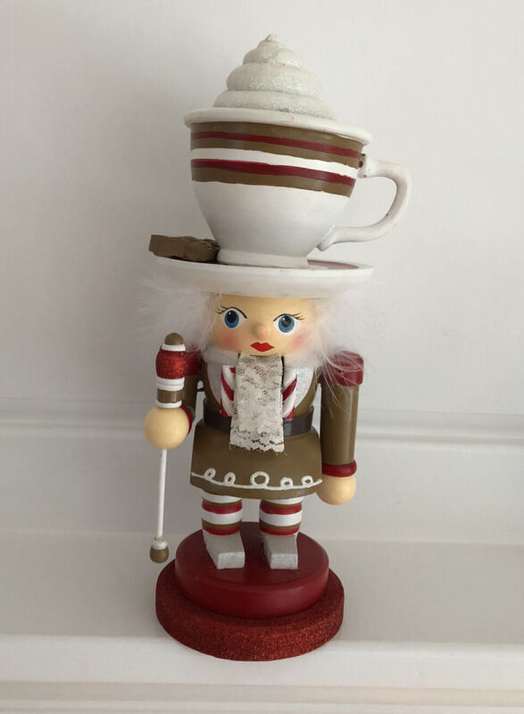 Kurt Adler by Holly Alder Hollywood Hot Chocolate And Cookie Nutcracker