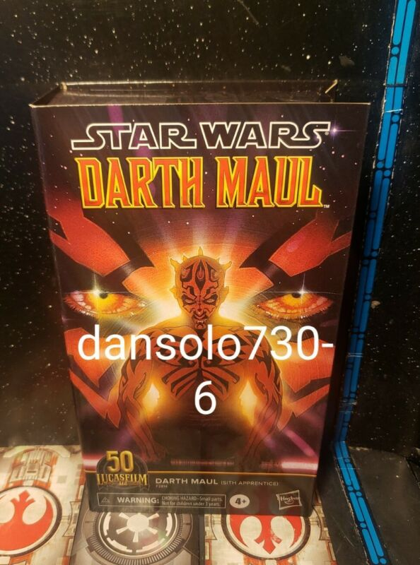 Star Wars The Black Series 6-inch DARTH MAUL (SITH APPRENTICE) 50TH LUCASFILM