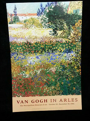 "VAN GOGH in Arles ""Flowering Garden"", Print"