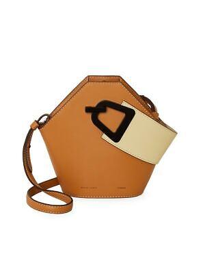 Danse Lente Mini Johnny Leather Bucket Bag Tan