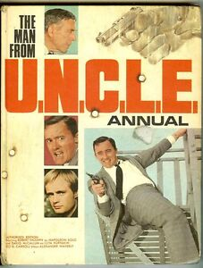 Man from UNCLE Annual (World Distributors 1968, UK hardback) mi