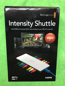 Black Magic Intensity Shuttle HDMI Capture Card