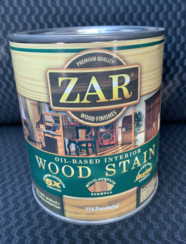 Quart Can ZAR 114 PROVINCIAL Oil Based Interior Wood Stain 11412 (Discontinued)