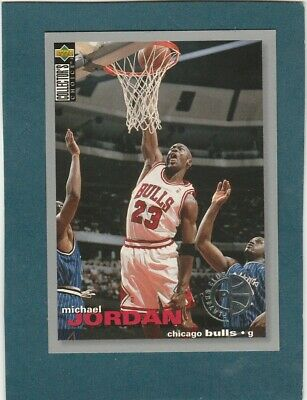 1995-96 COLLECTOR'S CHOICE PLAYERS CLUB #45 MICHAEL JORDAN CHICAGO BULLS