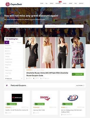 Coupons Deals Discounts Website