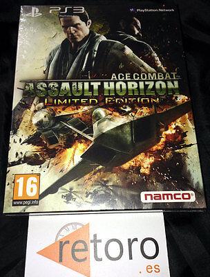 ACE COMBAT ASSAULT HORIZON LIMITED EDITION PS3 PlayStation 3 PAL Español NUEVO