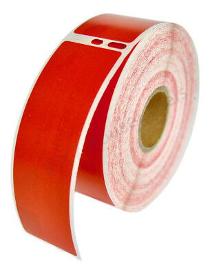 2 Rolls Of Houselabels 350 Red Address Labels For Dymo Labelwriters 30252