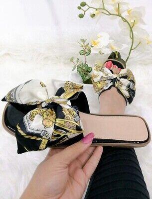 Versace Inspired Womens Sliders