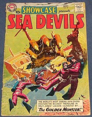 Showcase #27 Aug 1960 Sea Devils Russ Heath Cover