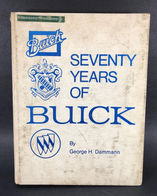 Seventy Years Of Buick Crestline Publishing Book George H Dammann 1973 Post Card