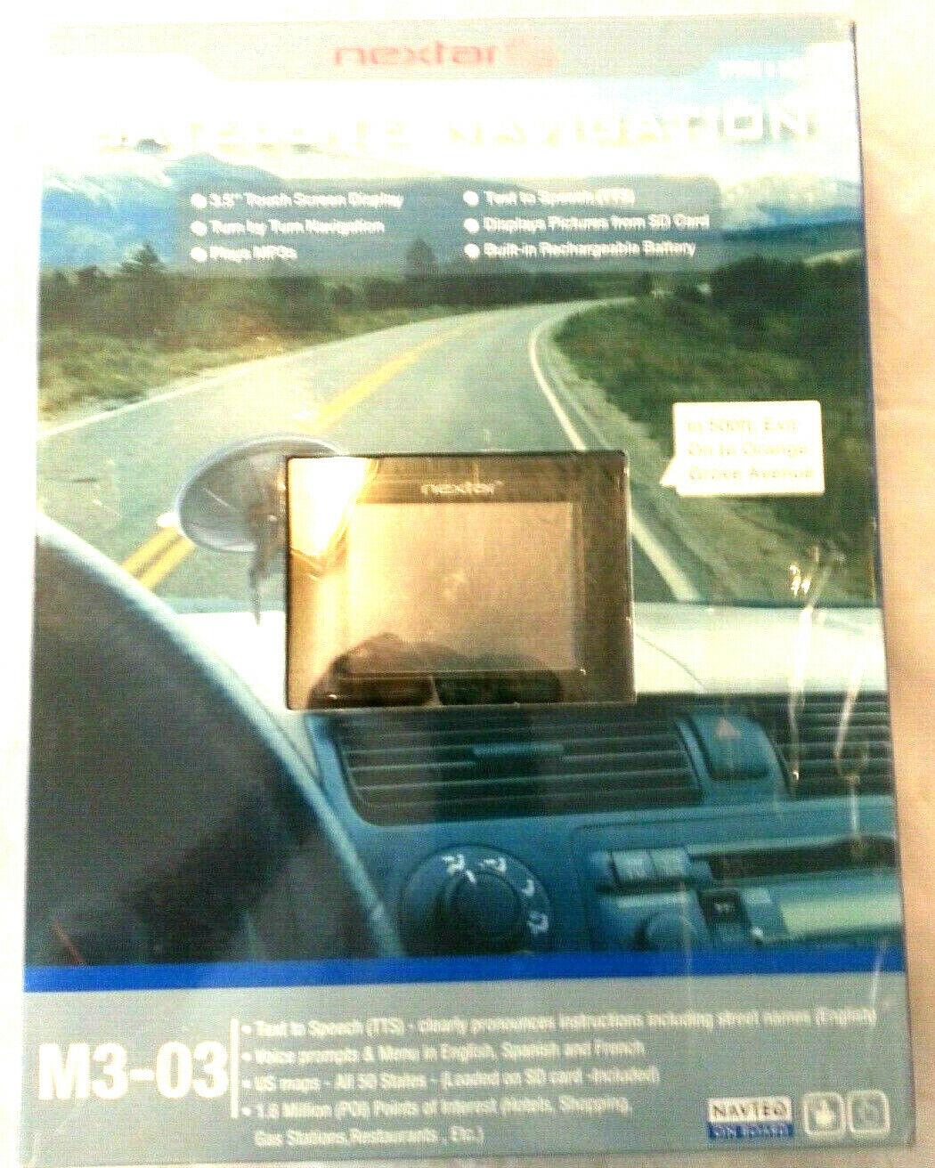 Nextar M3-03 gps Navigation System  In Box