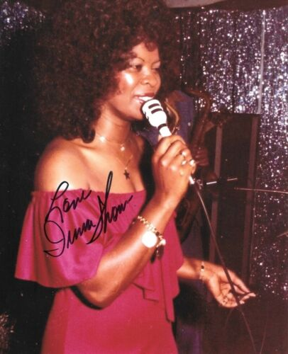 * IRMA THOMAS * signed 8x10 photo * SOUL QUEEN OF NEW ORLEANS * COA * 3