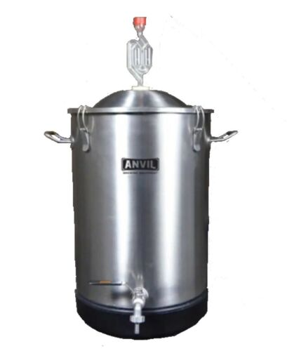 Anvil Brewing Stainless Bucket Fermentor 7.5 Gallon Conical Bottom