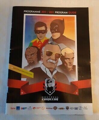Comic-con Montreal 2011 Program , Mr Stan Lee