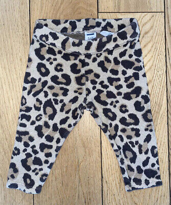 Baby Girl 6-12 Month Janie /& Jack Blue Leopard Print Zip Up Jacket /& Jogger Pant