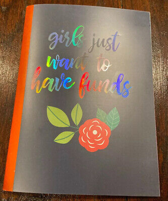 New Personal Finance Budget Annual Notebook Planner Girls Just Want 2 Have Funds