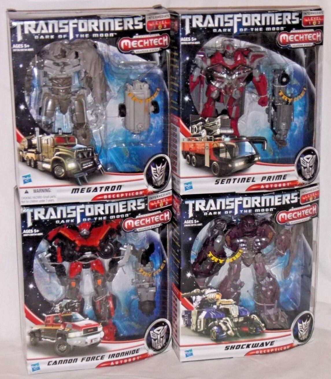 Купить transformers mechtech - sentinel prime shockwave megatron