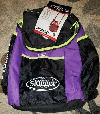 Louisville Slugger Baseball Softball Backpack Gear Bag