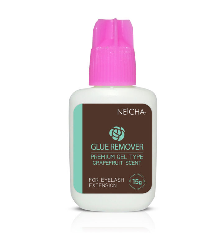 Makeup remover for eyelash