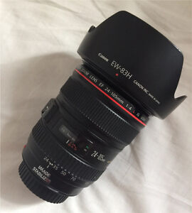 Canon 24-105mm f/4L IS USM Lens Ashfield Ashfield Area Preview