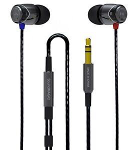 SoundMAGIC E10 Sound Isolating In-Ear Headphones Earphones earbuds (GUNMETAL)