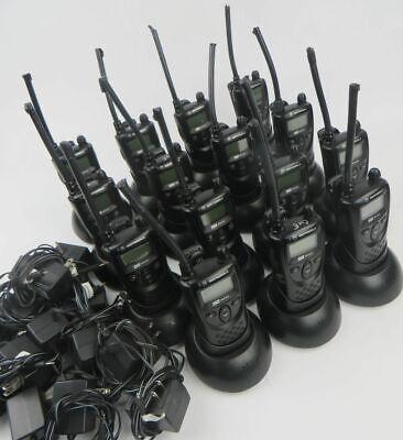 Lot Of 15 Motorola Xtn Xv1100 1ch Vhf 151-159mhz Business Radios W Chargers
