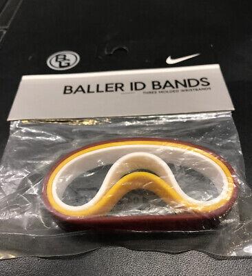 Denver Nuggets BALLER BANDS Id WRIST Bracelets BASKETBALL New VINTAGE 2005