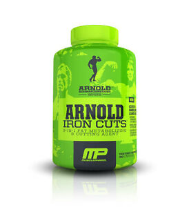 Arnold IRON CUTS  3-IN-1 Fat Metabolizing and Cutting Agent Pills (90 Capsules)