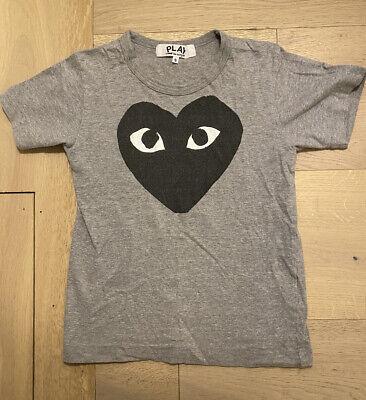 AUTHENTIC Comme des Garçons Play Logo Graphic T Shirt (small) RARE
