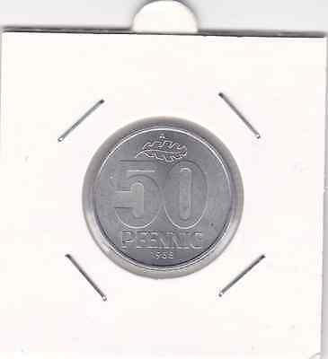 50 Pfennig DDR 1958 A Berlin prima Erhaltung