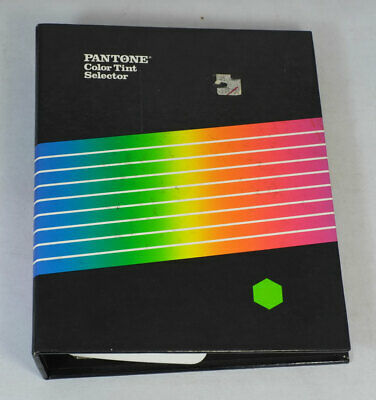 Pantone Color Tint Selector Coated Uncoated Book