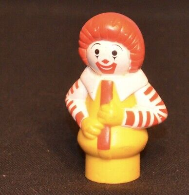 VINTAGE FISHER PRICE LITTLE PEOPLE RONALD McDONALD FROM SET #2552