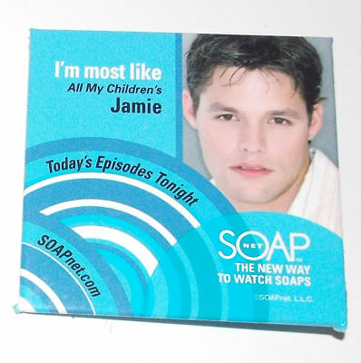 Justin Bruening Button 3in All My Children Soapnet Rare Knight Rider Ringer Pin