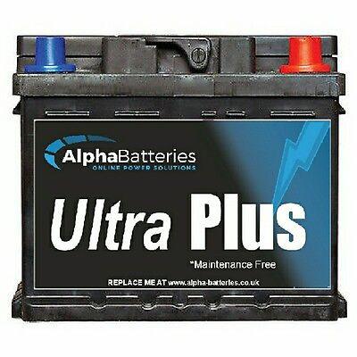 Alfa Romeo 147 Petrol Heavy Duty Car Battery 4 Year Gtee All Years 075