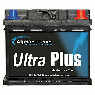 Alfa Romeo 156 Petrol Heavy Duty Car Battery 4 Year Gtee All Years 075