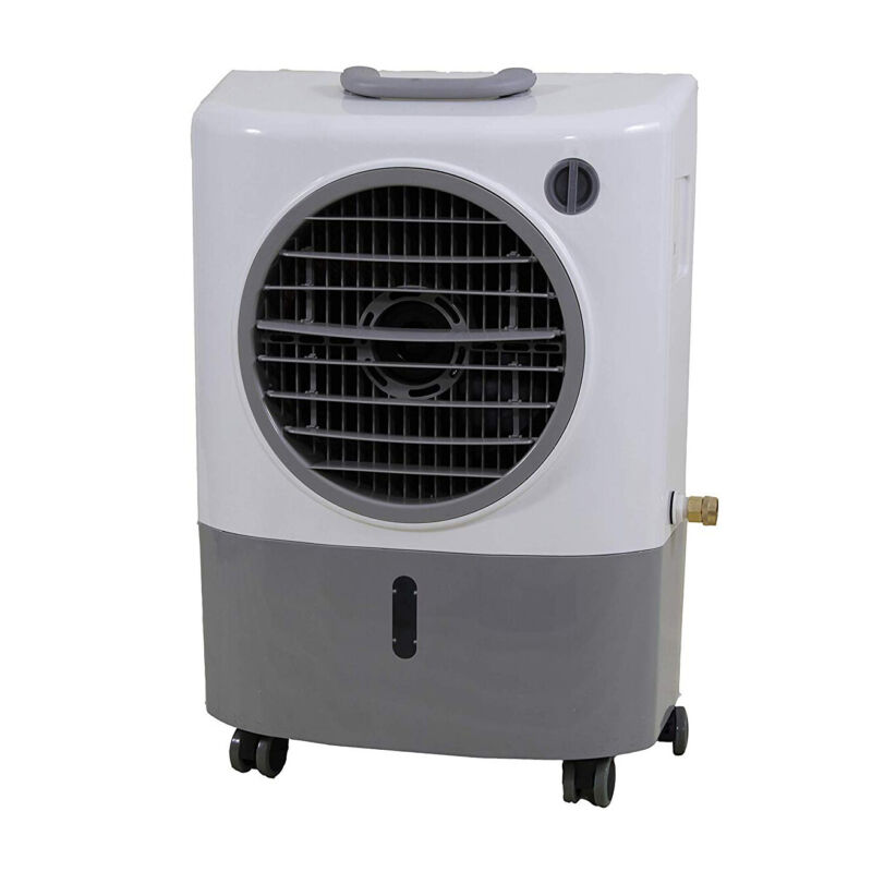 Hessaire MC18M Indoor/Outdoor Portable 500 Sq Ft Evaporative Swamp Air Cooler