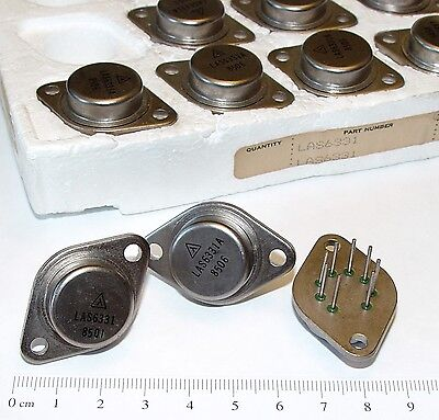 1pc Las6331 A Adjustable Lambda 3 Amp Switching Voltage Regulator To-3 Us