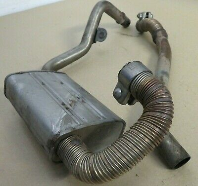LAND ROVER DISCOVERY 3 L319  WEBASTO PRE HEATER EXHAUSTS AND SILENCER BOX