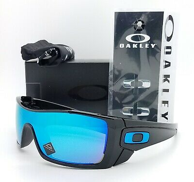NEW Oakley Batwolf sunglasses Black Prizm Sapphire Iridium 9101-58 AUTHENTIC NIB